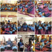 Yoga For Blind School Children
