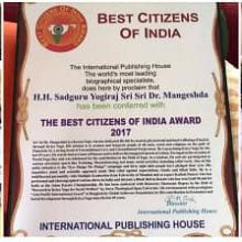 Best Citizens Award