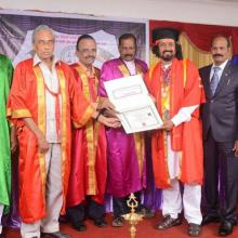 Honorary Doctorate - Jeeva Theological University