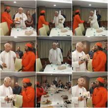Meeting with Mohan Bhagwat