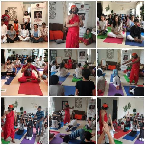 Activity - kriya-yoga-diksha-dubai