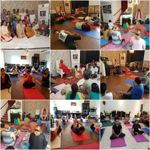 Kriya Initiation-UAE-2016
