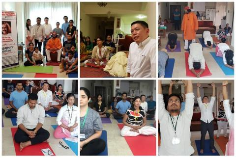 Kriya Yoga initiation - Singapore 2018